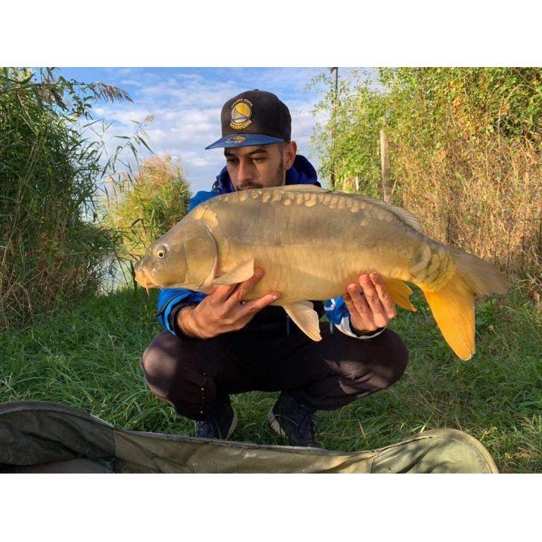 A nap első hala meglehetősen gyorsan, nagyjából fél óra után érkezett. Ez 4,80 kg volt