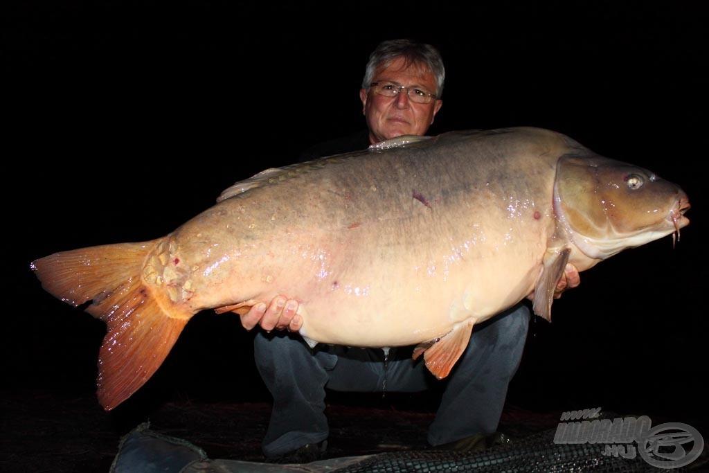 Közel a harminchoz! A hal súlya: 28,20 kg