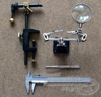 Méréseim során ezeket az eszközöket vettem igénybe