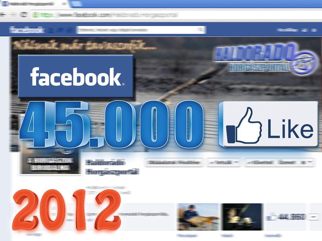 A 2012-es évtől a Haldorádó aktív Facebook tevékenységbe kezdett, hogy mindenhol ránk találjanak. 2014-ben a kedvelőink száma elérte a 45.000-et, ma pedig meghaladja a 68.000-et!