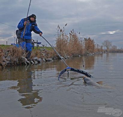 2014. január 2. - az új év első horgásznapja