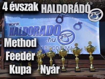 4 évszak Haldorádó Method Feeder Kupa – 2. nyári forduló versenykiírás