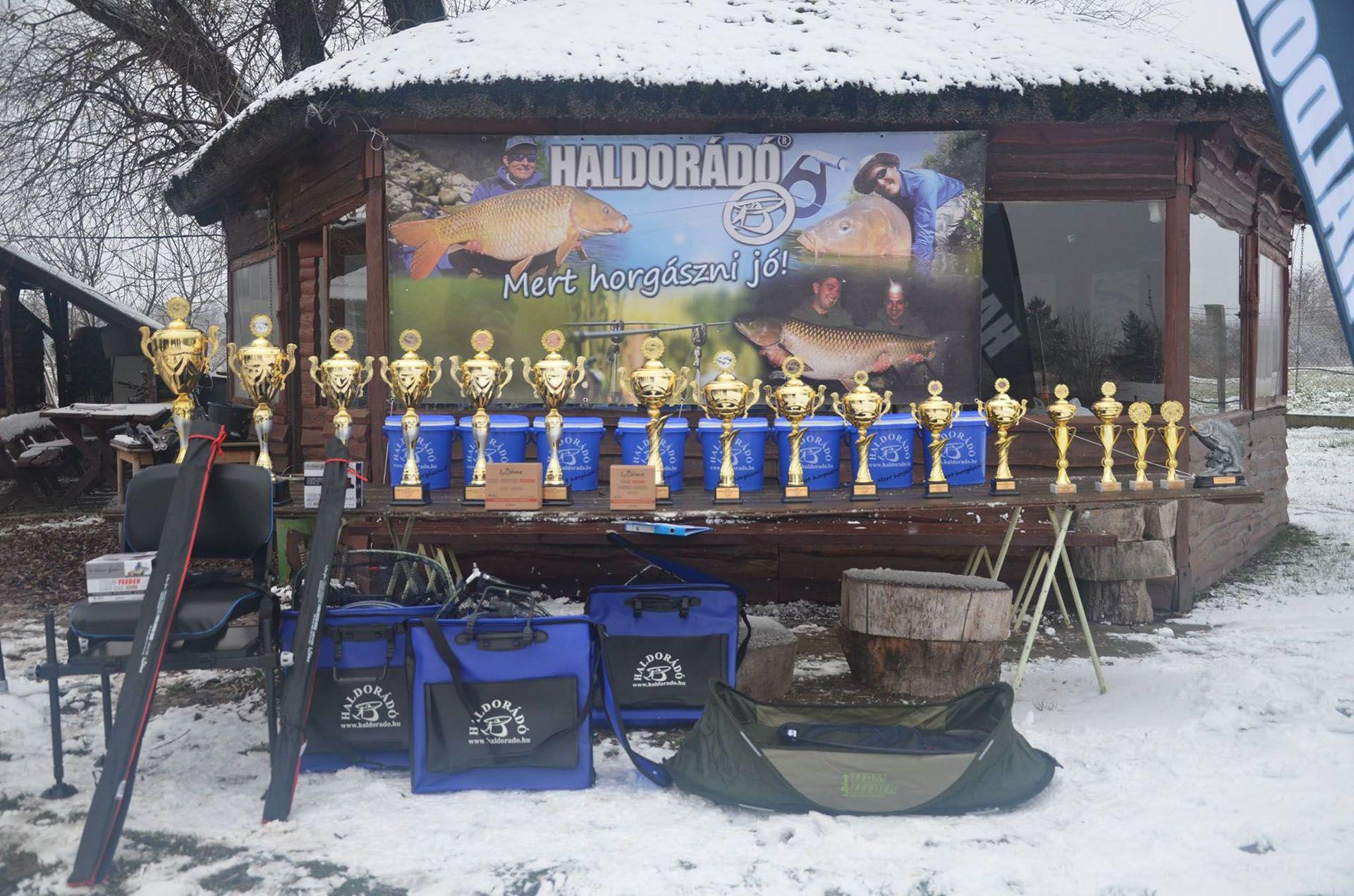 A negyedik forduló és az összetett verseny díjai