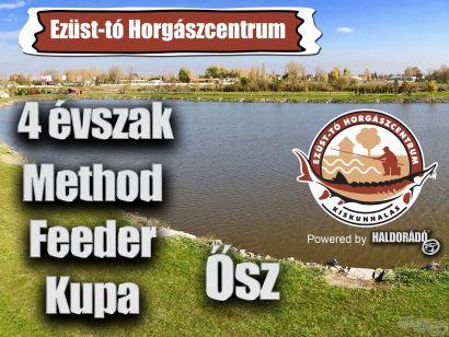 4 évszak Haldorádó Method Feeder Kupa 2018 versenysorozat kiírás – Ősz
