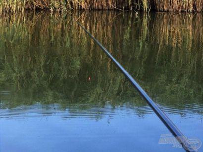 7 méteres spiccbottal a tiszai csatornán