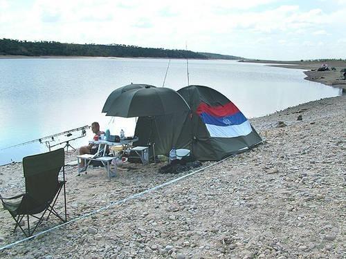 Zoran Djukić és Obrad Marković sokáig nem fogtak méretes halat