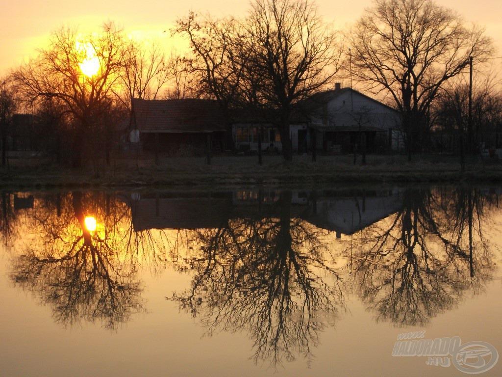 A Nap hamarosan lebukik a horizonton, ideje megkezdeni a pakolást
