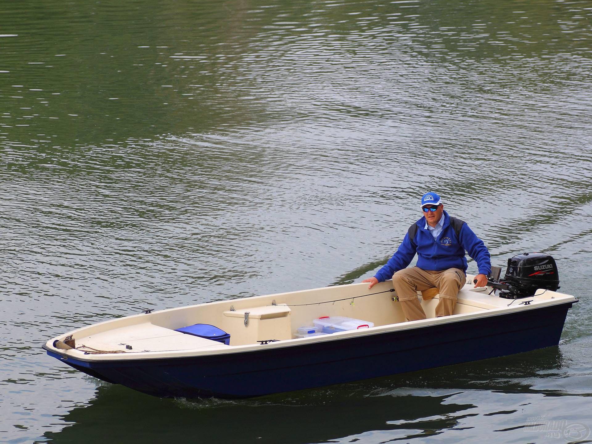 Nekem nagyon bejött ez a csónak