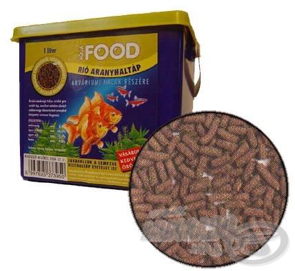 Az aranyhaltáp kiváló etetőanyag adalék (1 literes, vödrös kiszerelés)…