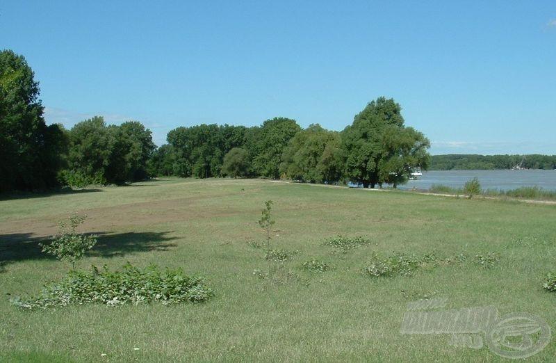 A tartalék (2008-as) helyszín