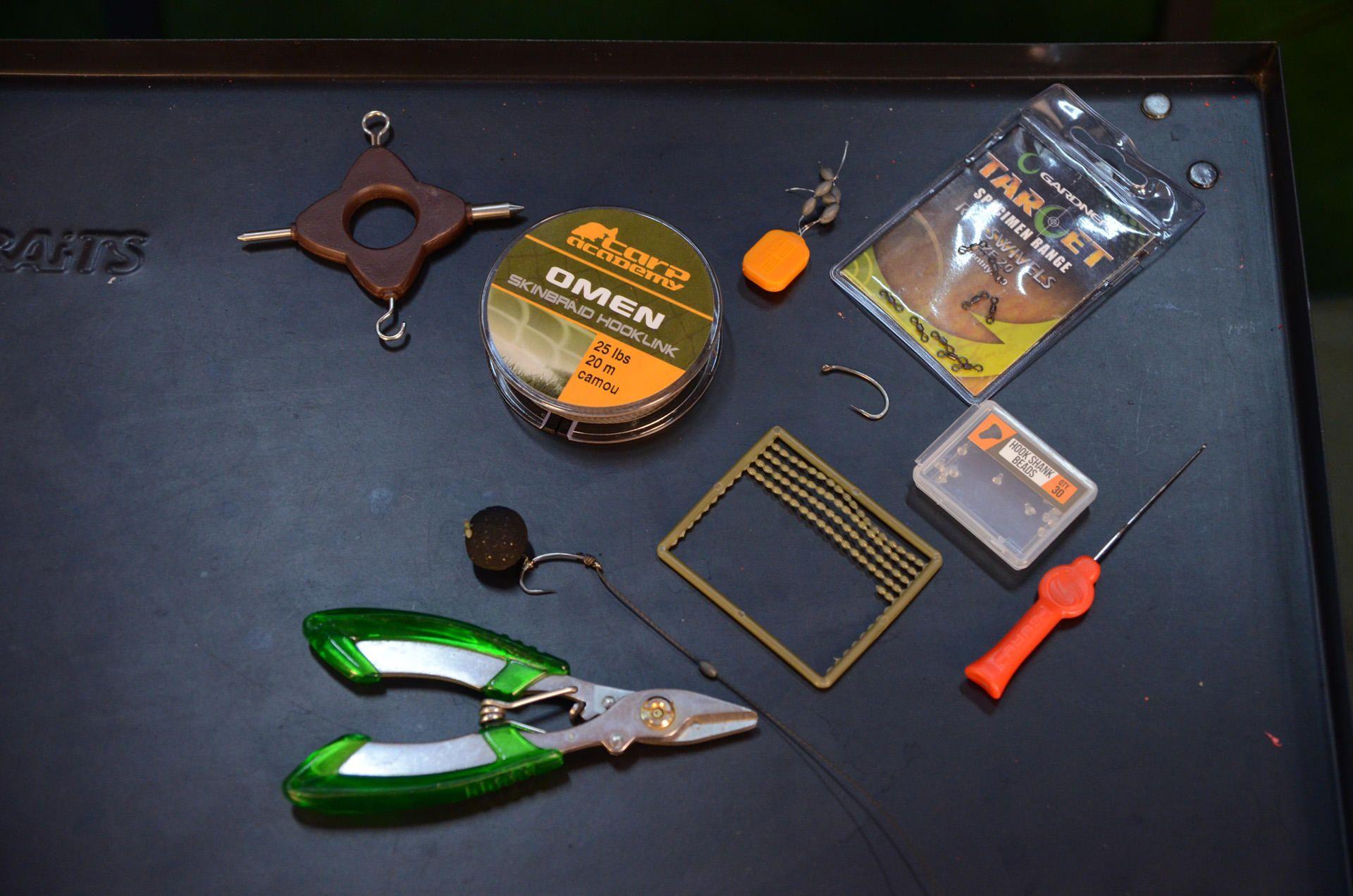 A felhasznált eszközök, termékek