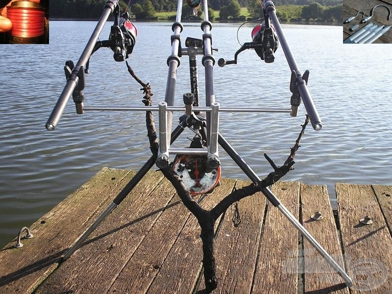 Ha ágas-bogas vizekre megyünk horgászni, a vastag monofil előtétzsinórt és a zsinórszabadító kampót semmiképp ne hagyjuk otthon!