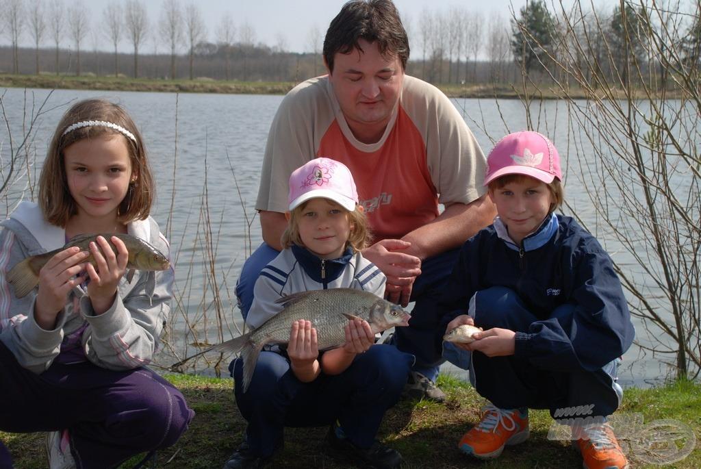 Fogtunk mindenféle halat a kicsitől a nagyig