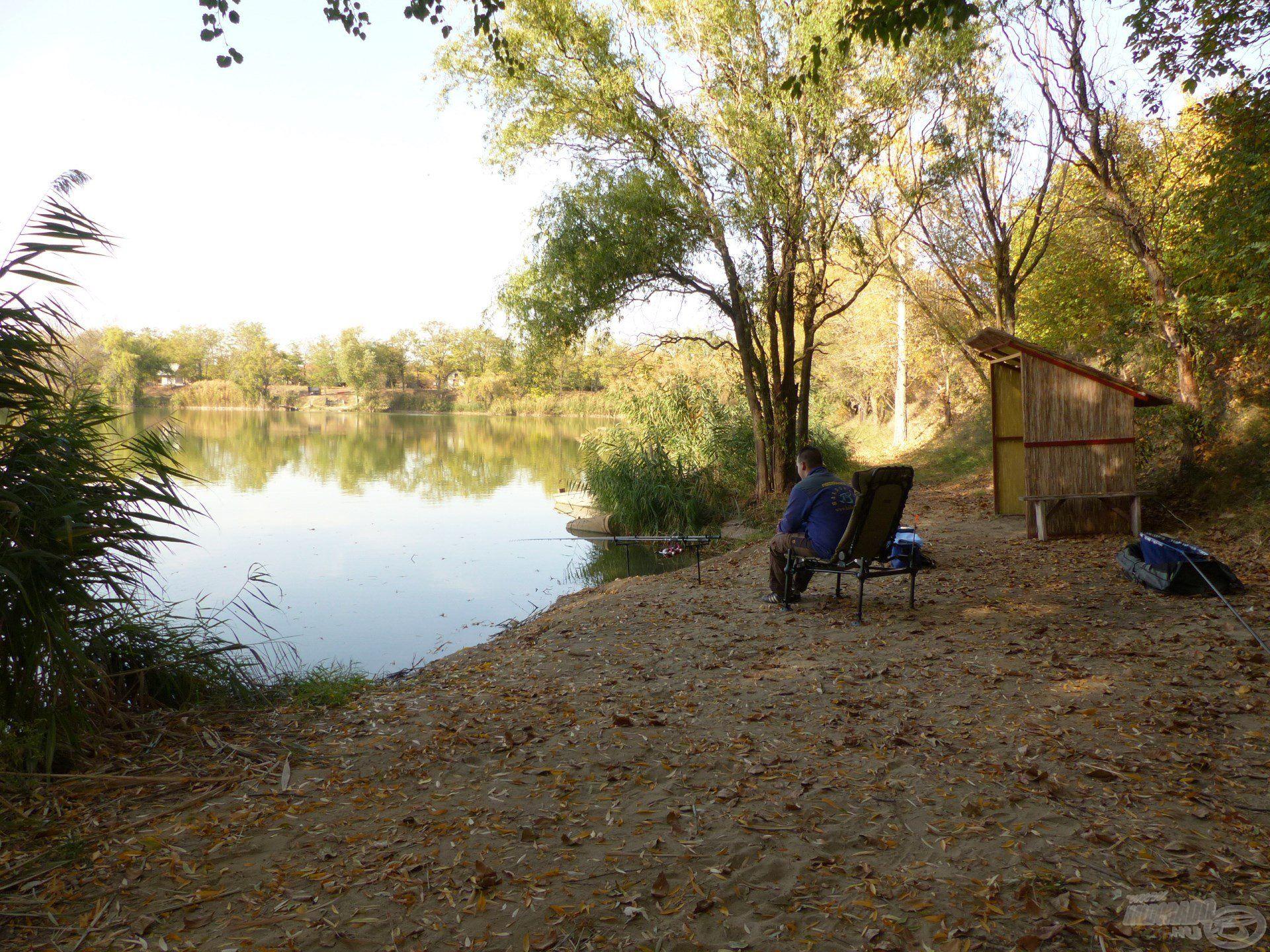 """A Szénás Carp Horgásztó """"1-es helyét"""" választottam az őszi nagyponty-horgászathoz"""