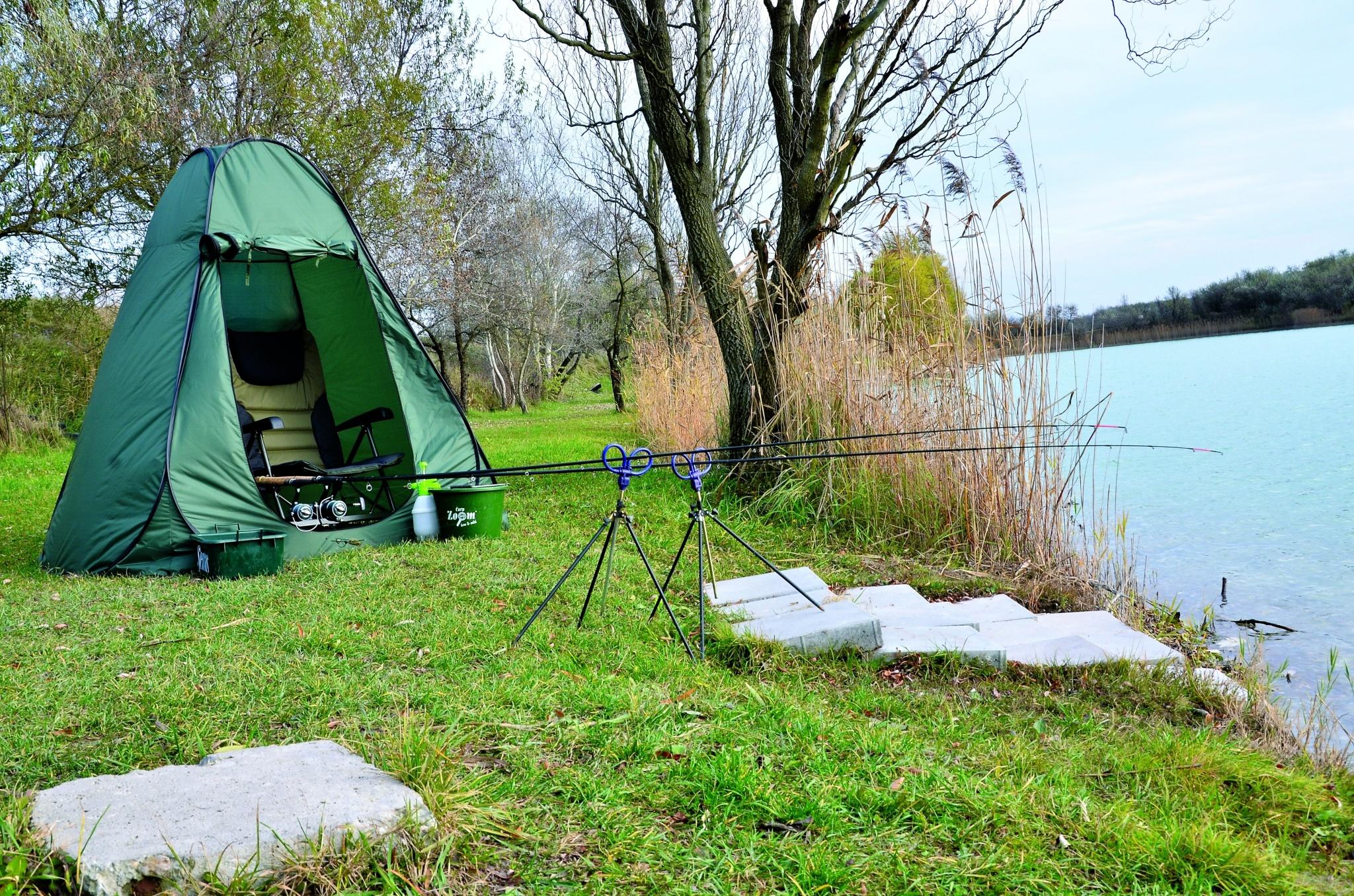 Éppen akkora, amekkora fedezékre egy horgásznak szüksége lehet, akár az eső, szél, vagy erős napsütés elől!
