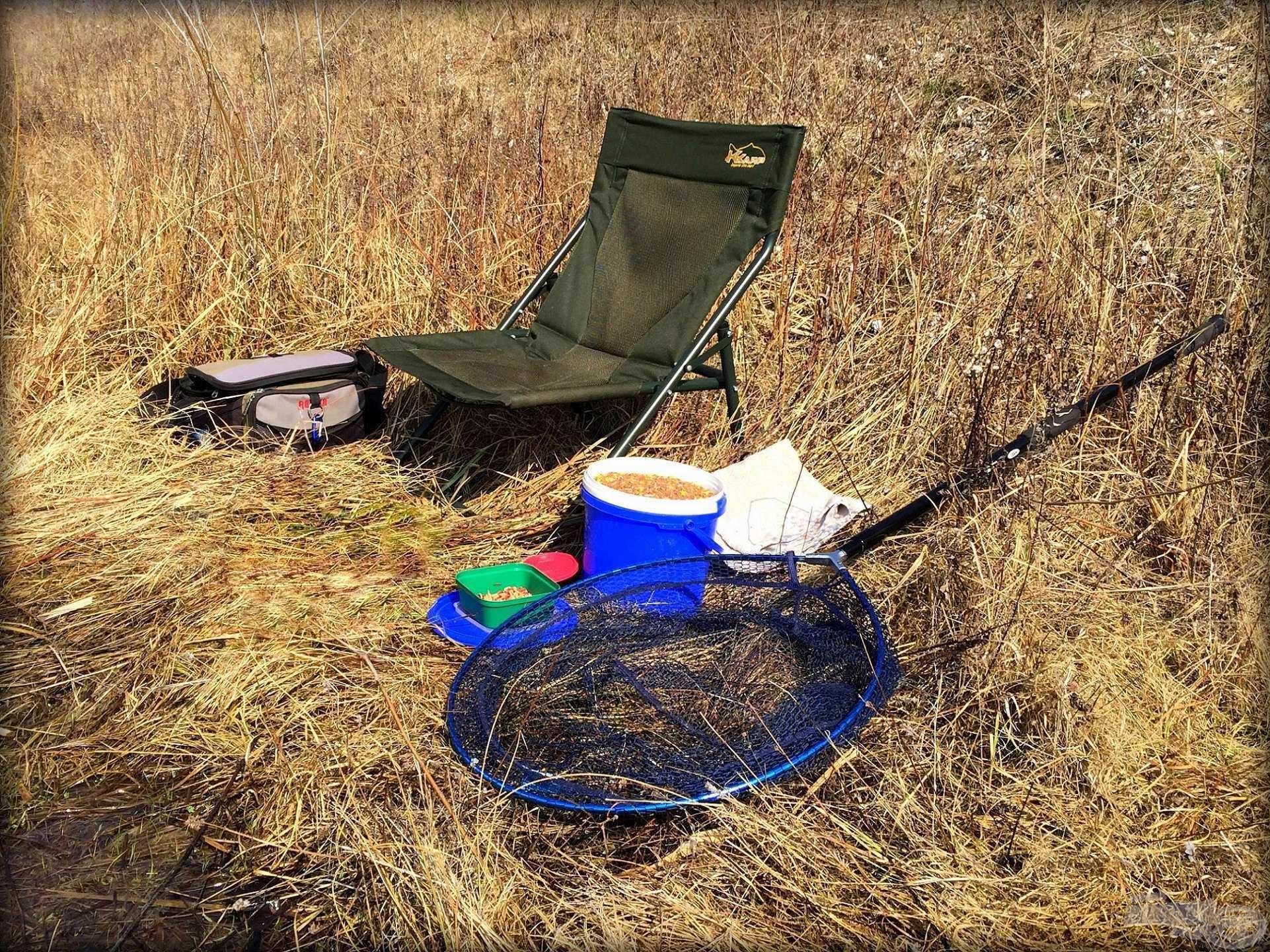 Horgászatra készen
