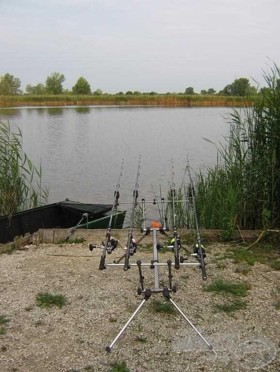 Felszerelések bevetve, már csak a halra várunk