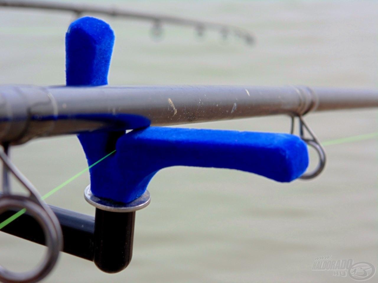 Két bottal horgászva elkél a biztonsági bottartó