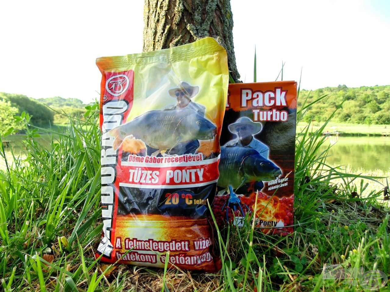 A Tüzes Ponty széria kifejezetten a kánikulai horgászatokon lehet eredményes