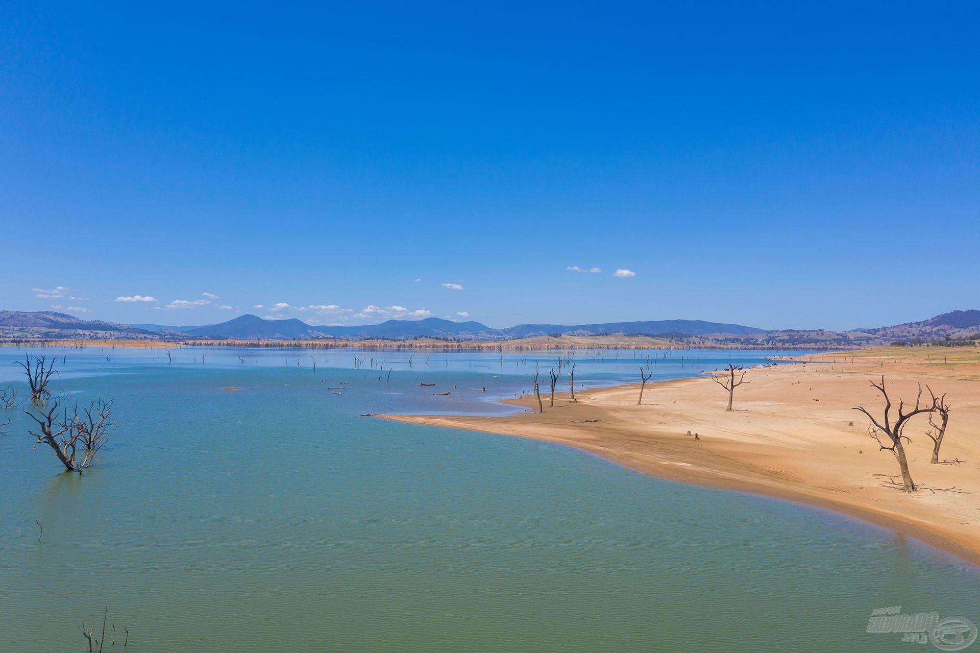 A Feeder Fest 2020 nemzetközi verseny helyszíne a Lake Hume víztározó volt