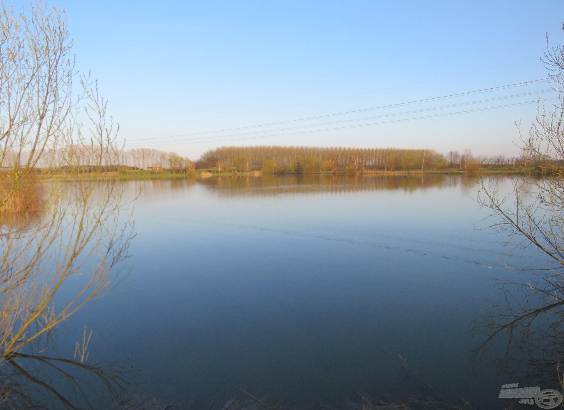 A pergető tó