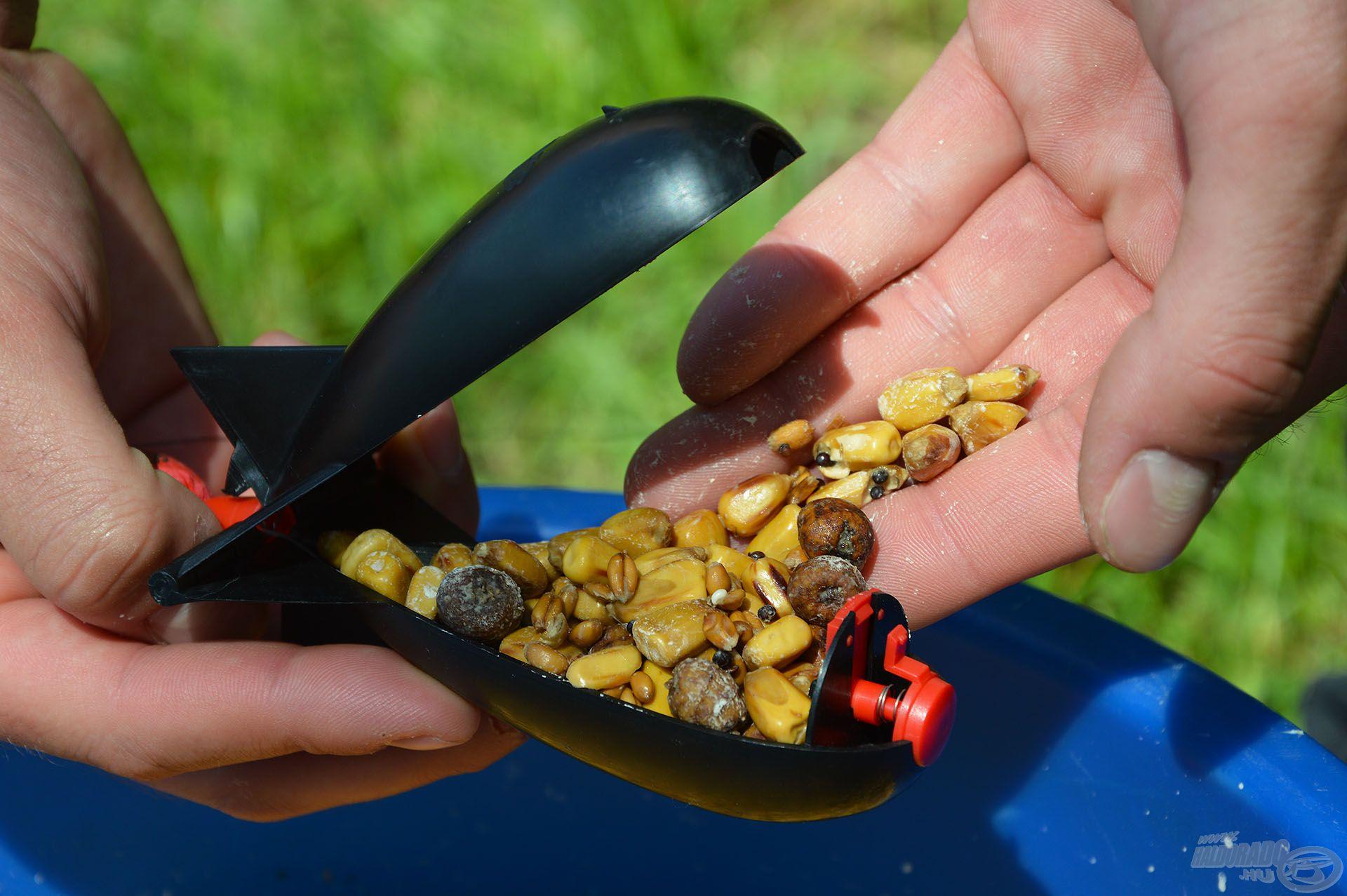 Egy mini Spomb rakéta ideális megoldást kínál a szemes anyagokkal való parti, feederes etetéshez, akár nagy távolságra is!