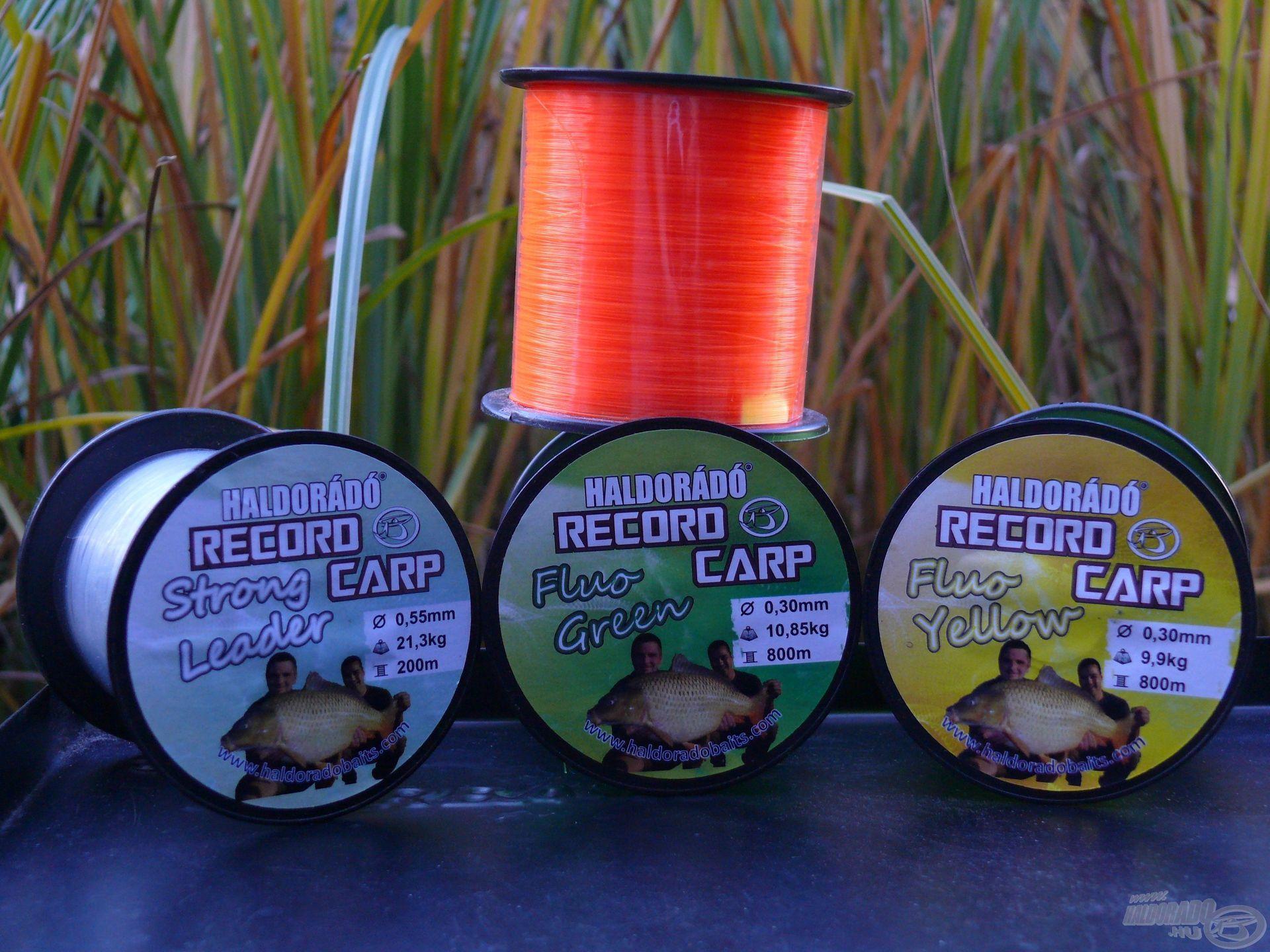 Húzós horgászatokon előszeretettel használt zsinórjaink