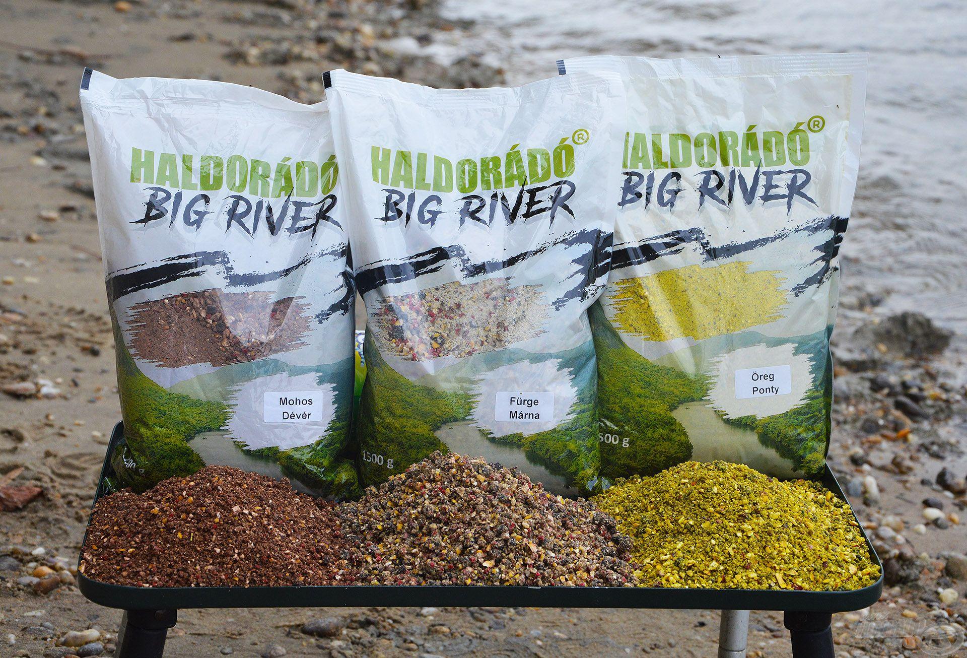 Az összes Big River etetőanyag tartalmaz elliptikus pelletet, amely formájának és fajsúlyának köszönhetően garantáltan a kosár közelében marad