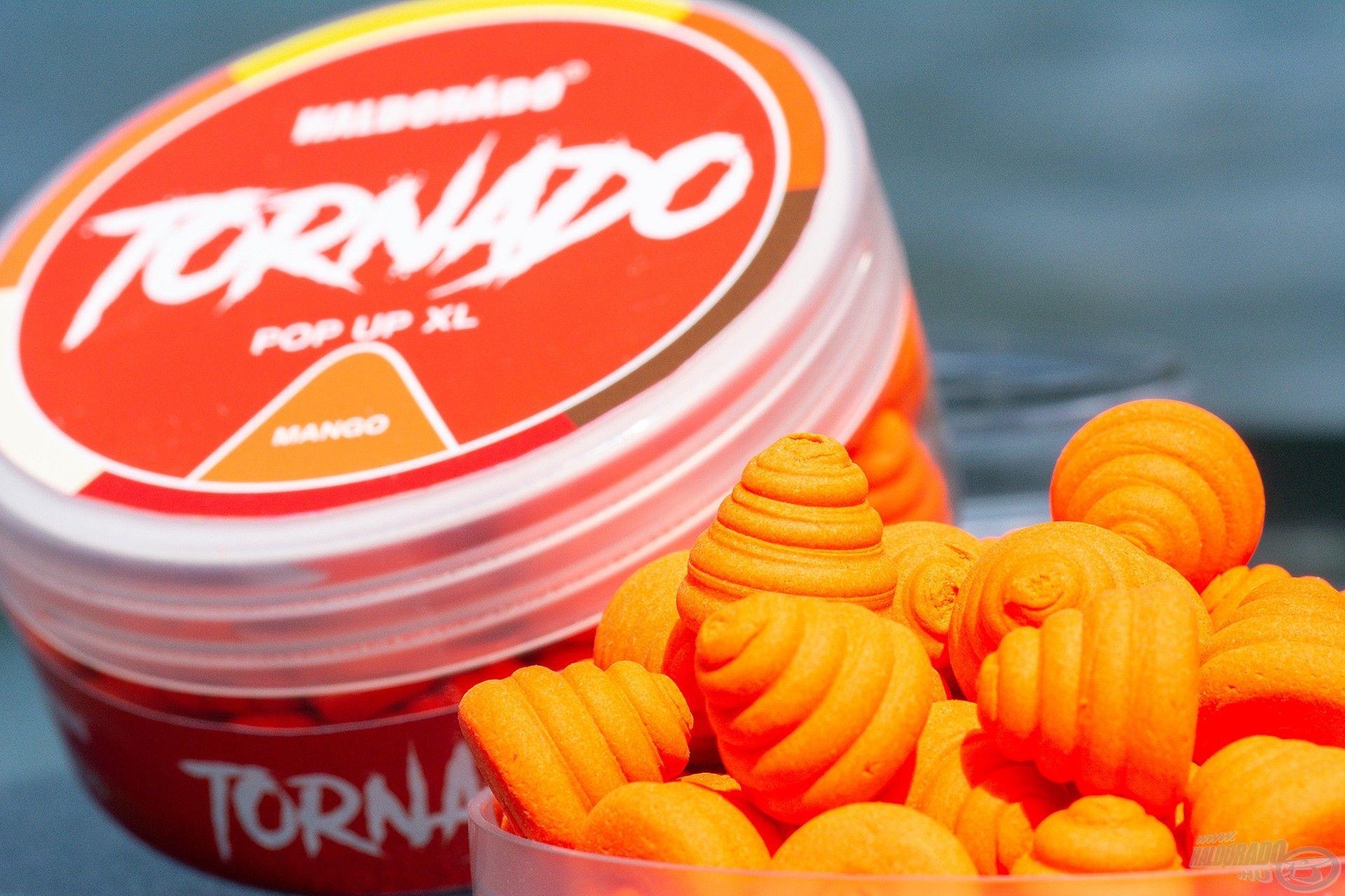 Büszkén mutatom be 2021-es fejlesztéseink közül a TORNADO Pop Up XL Mangót!