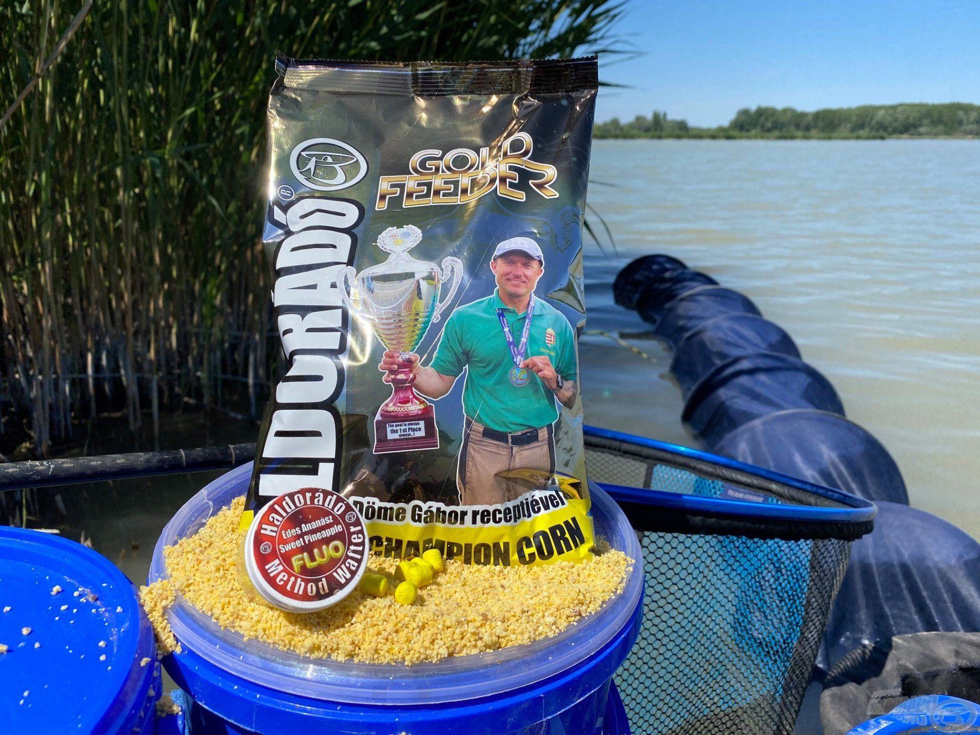 Az egyesületi tavakon gyakran a kukoricás alapú etetőanyagok a leghatékonyabbak, kínálatunkban a legjobb ilyen típus a Gold Feeder Champion Corn