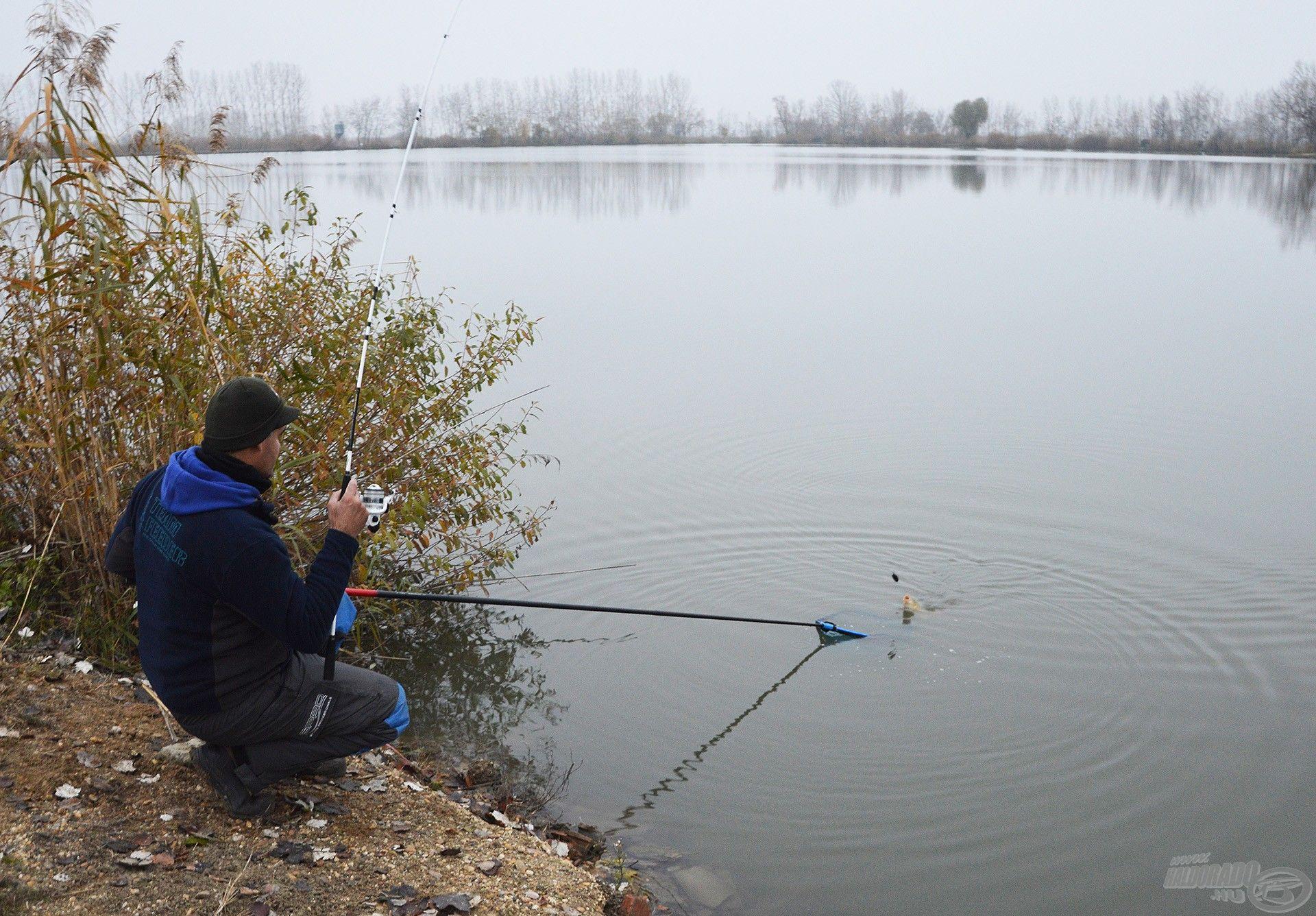 Ezzel a bottal a fárasztás minden pillanata élmény, függetlenül a hal méretétől