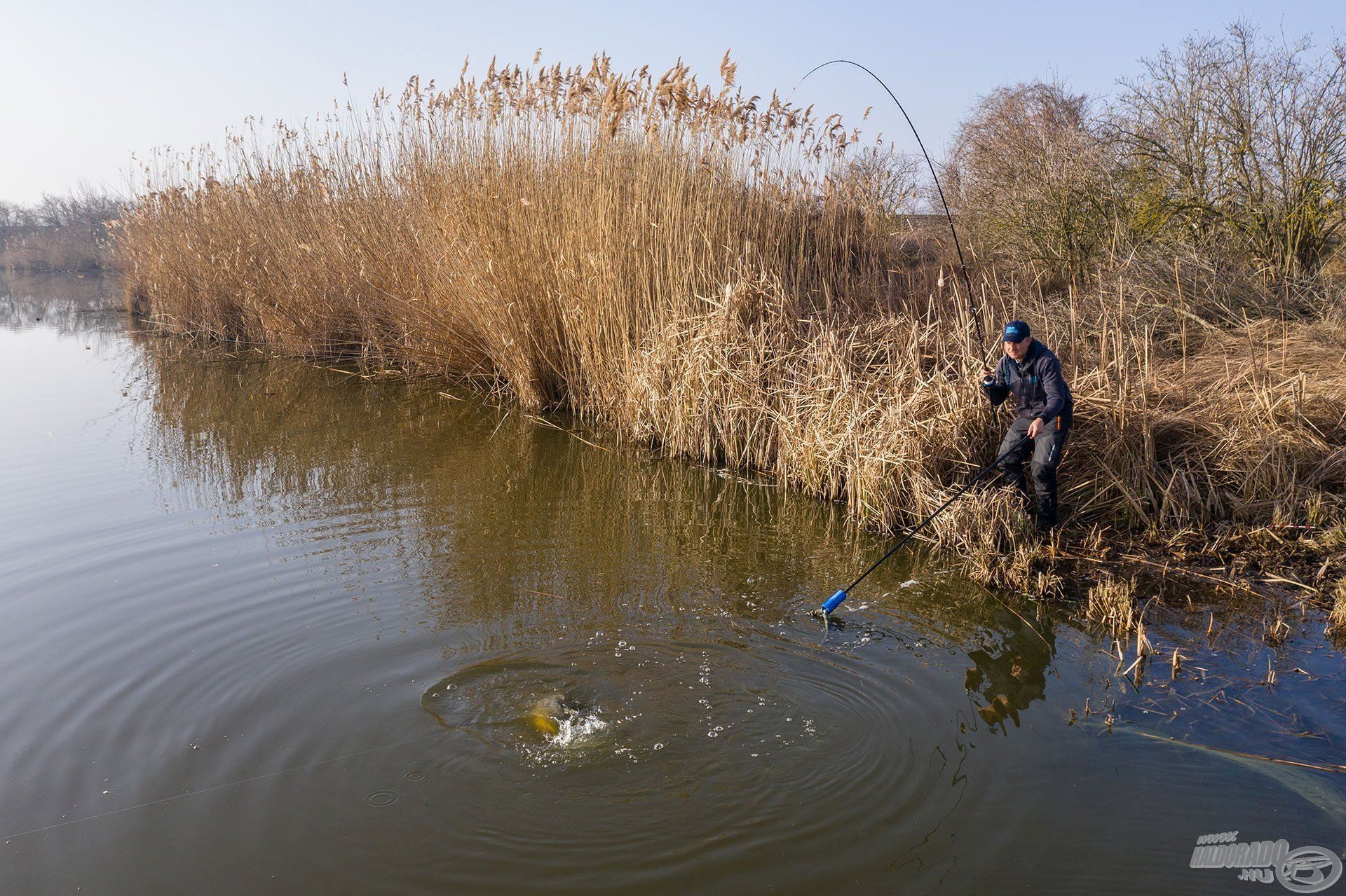 Jól terhelhető, megbízható horgászbot