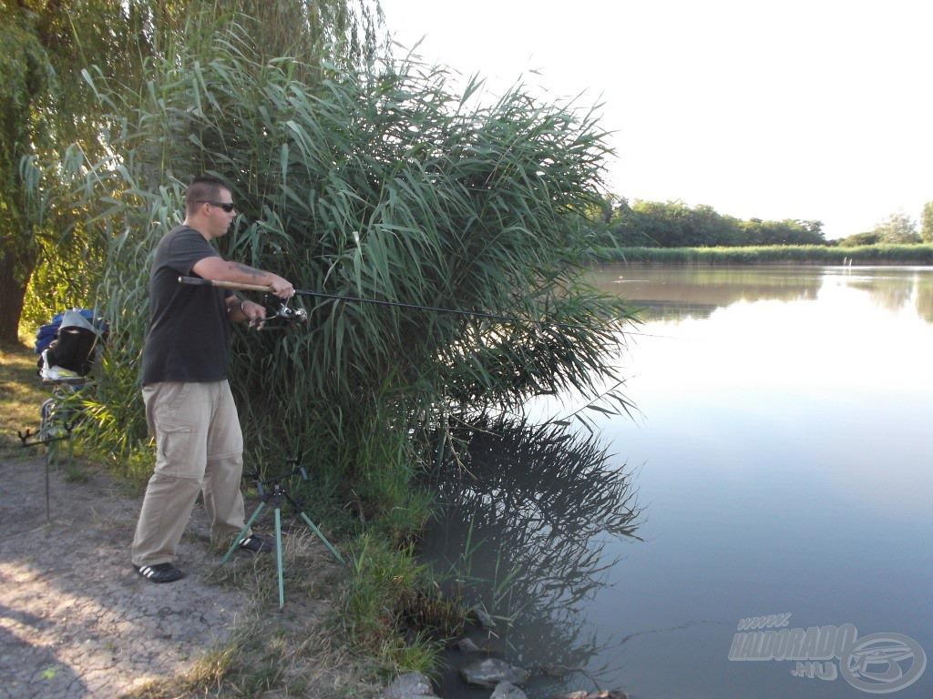 A kiváló feederbot esélyt sem ad a halnak a menekülésre