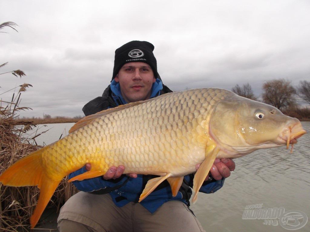 A pontosság nagy halat terem: a nap legnagyobb halát sikerült megfognom zárásként