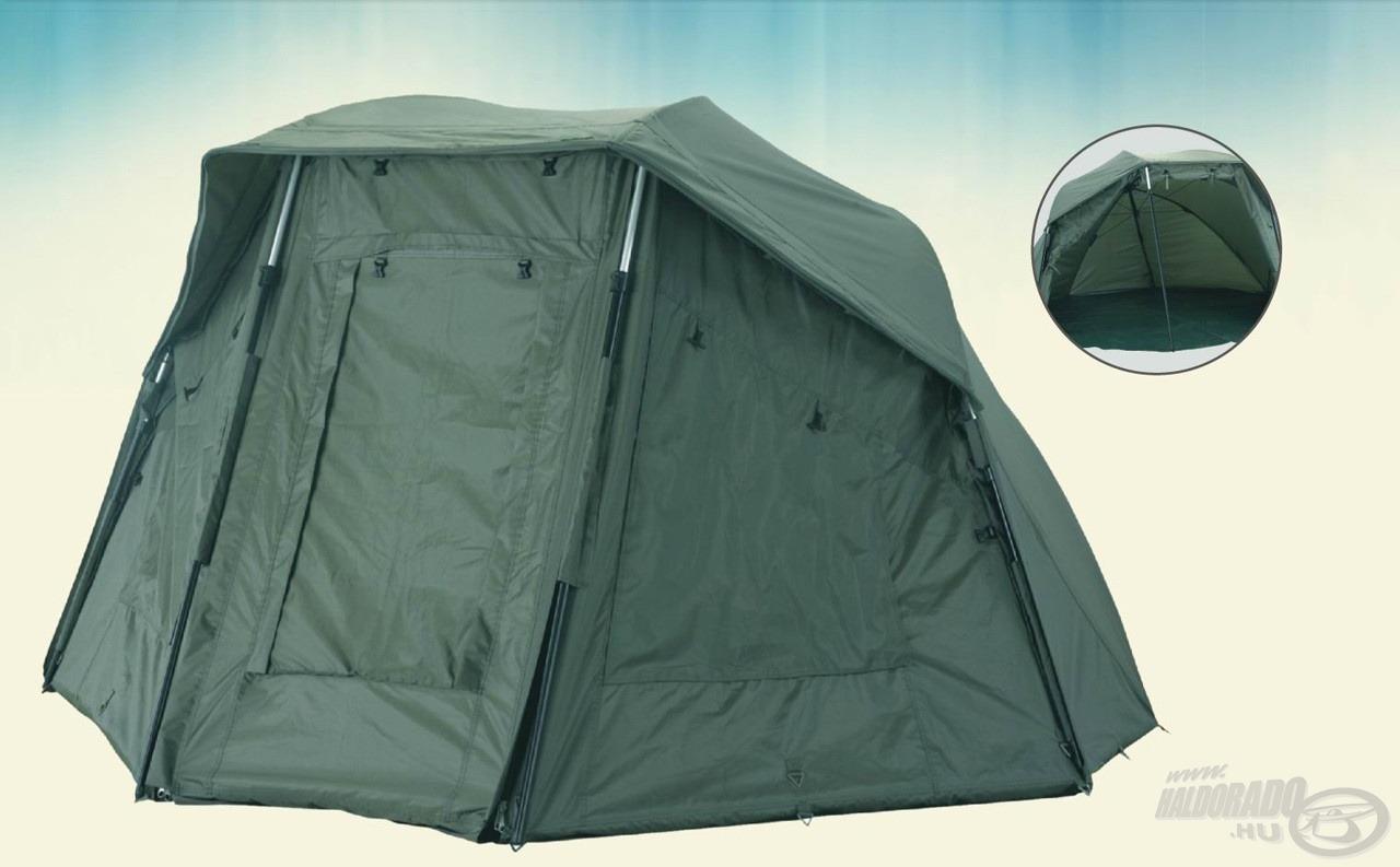Ezt a sátrat azoknak ajánljuk, akik az ernyő praktikusságát nem szeretnék mellőzni, mégis szükségük van egy megbízható sátorra