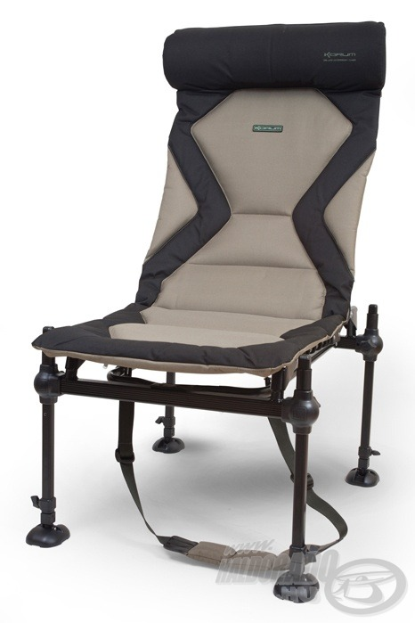 Ez a fotel kifejezetten a feederhorgászoknak készült