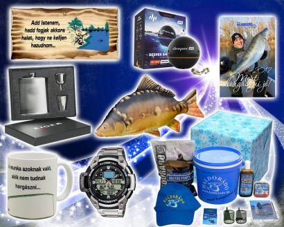 Ajándékötletek horgászoknak - azoknak, akik az utolsó pillanatra hagyták a vásárlást