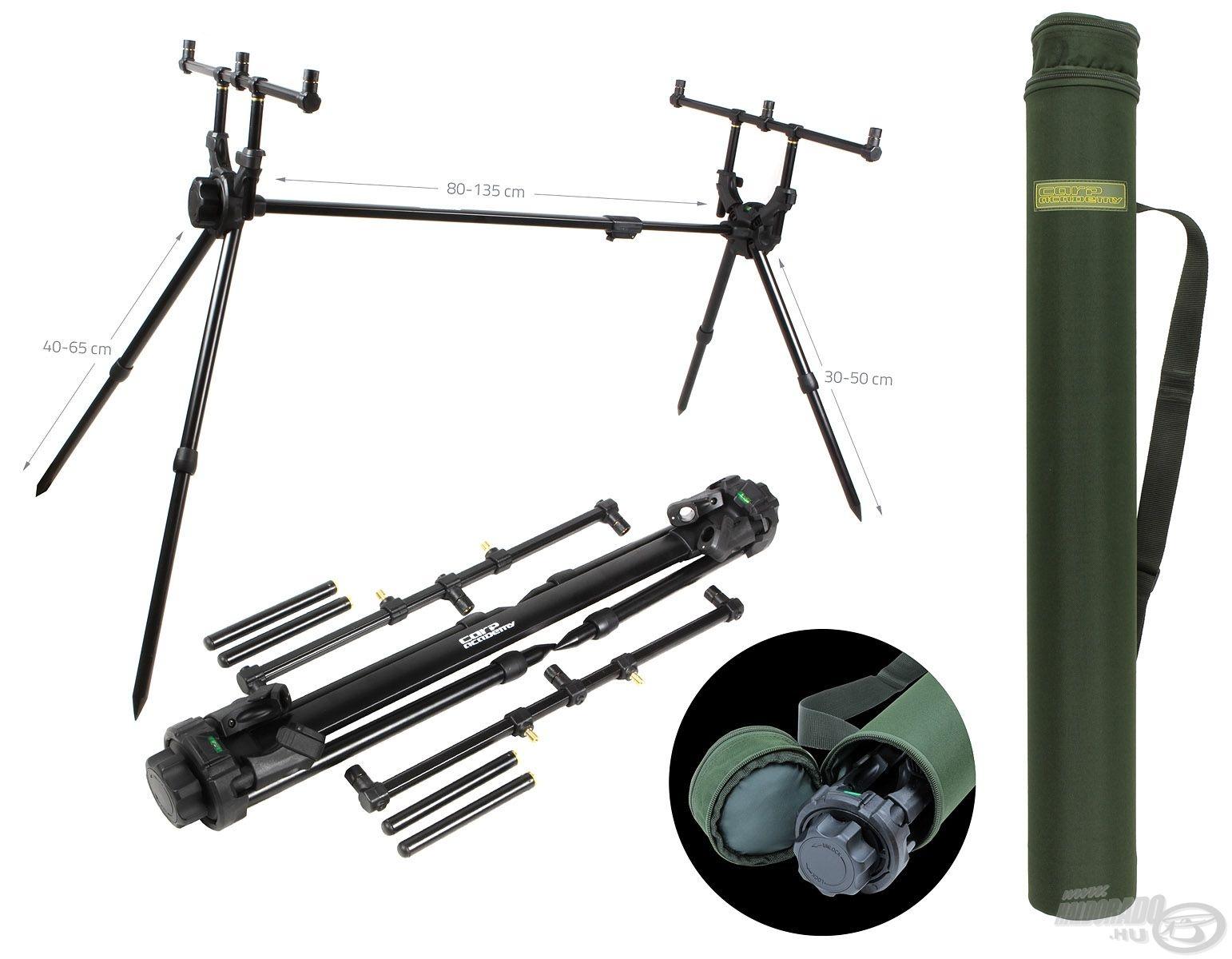A Deluxe Rod Pod-ot haladó és akár profi bojlis horgászoknak is bátran ajánlunk!