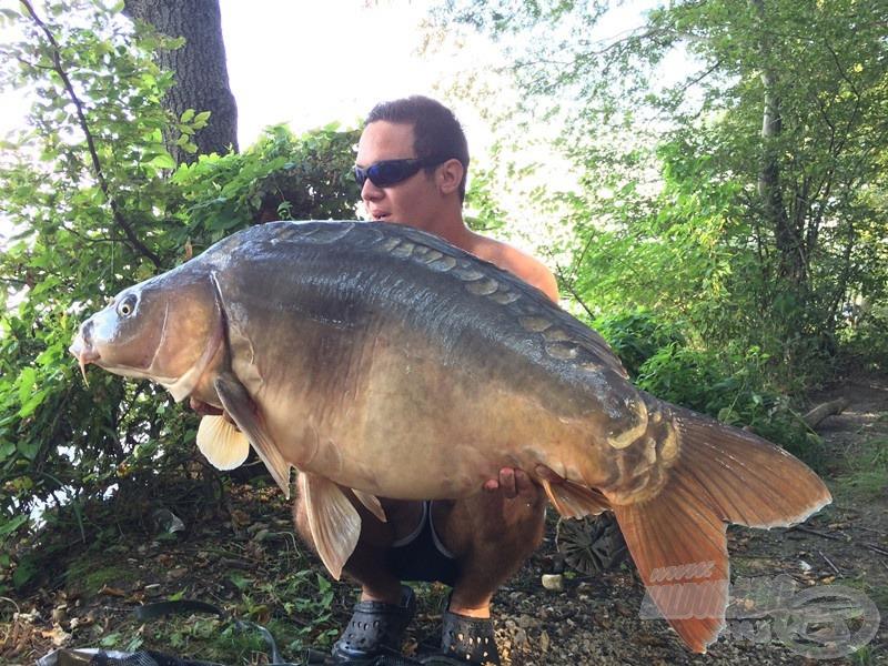 A Prissy (pisztácia) kiadta még az első 24 órán belül a túra halát: 22,50 kg, beérett a kigondolt taktika!