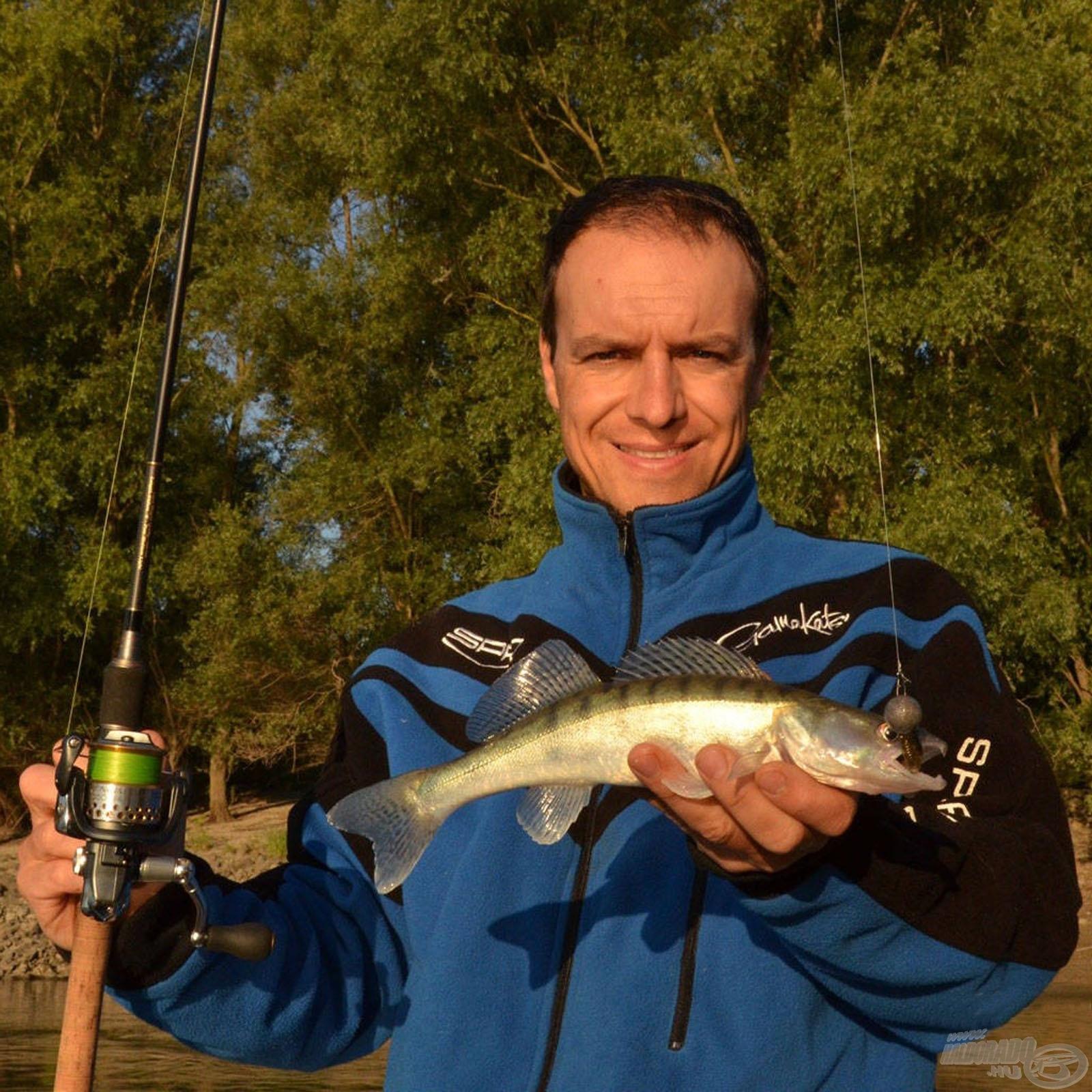 Rablóhal horgászat