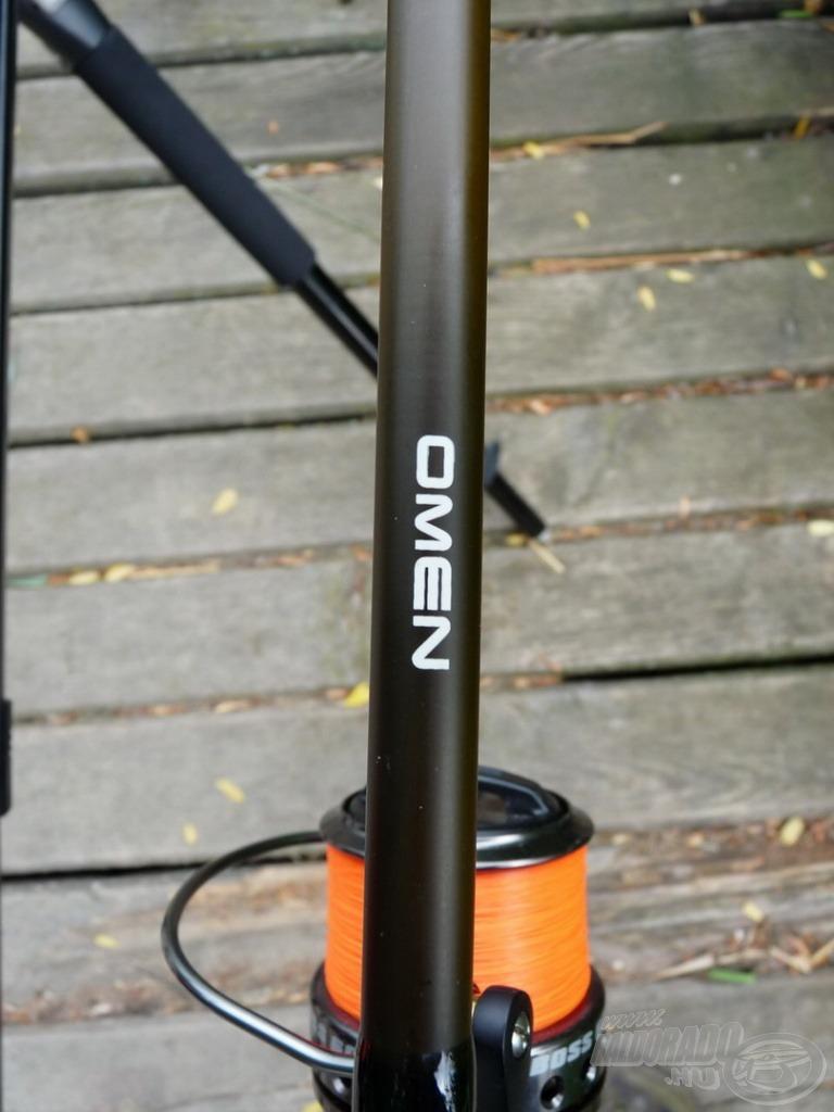 A Nevis Omen 3 lbs botok kiválóan teljesítettek, jól állták a harcos amurok vad kirohanásait