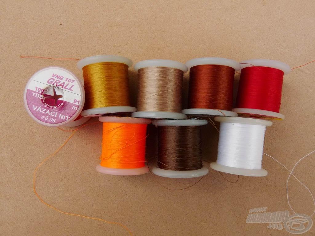 Yarn - cérna (műlégykötéshez)
