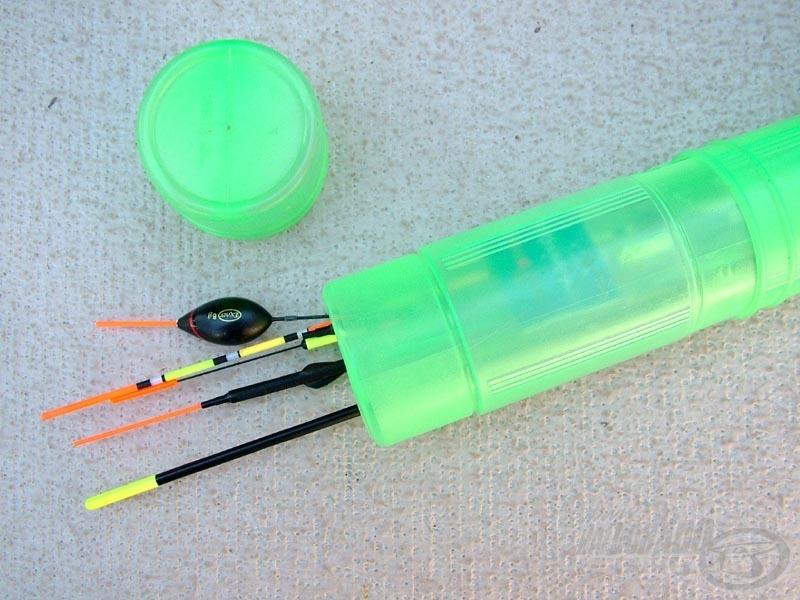 Float holder - úszótároló cső