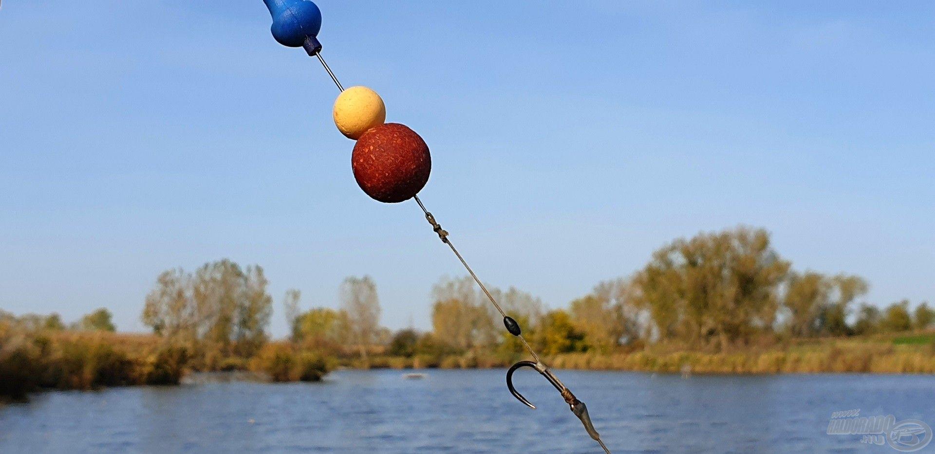 A horgászat során leginkább bevált kombináció