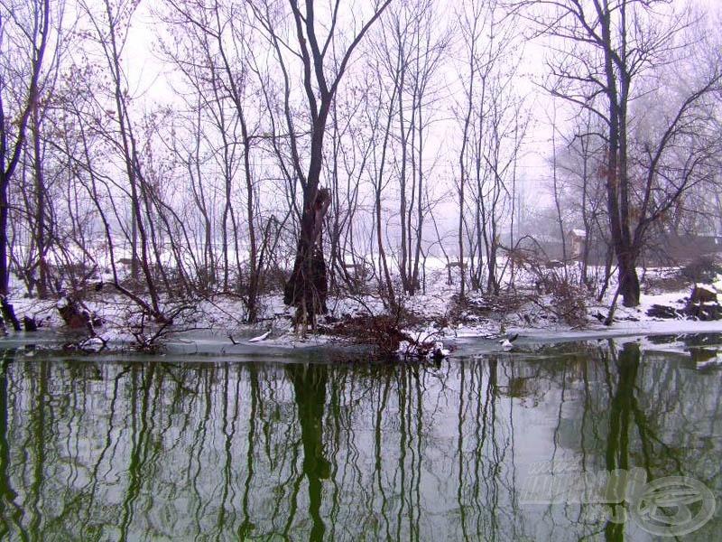 A természet télen is békés és csodálatos