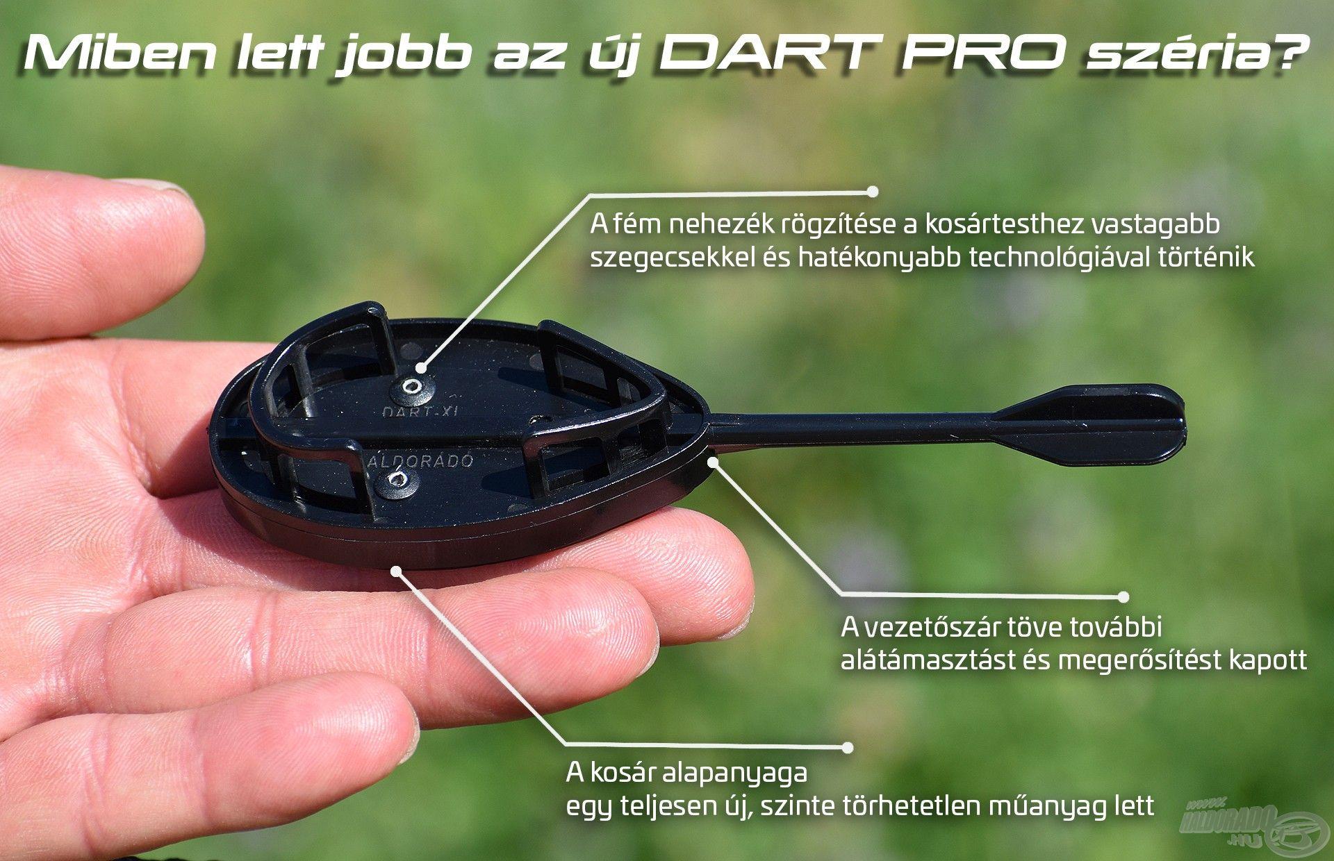 A Dart Pro legfontosabb tulajdonságai