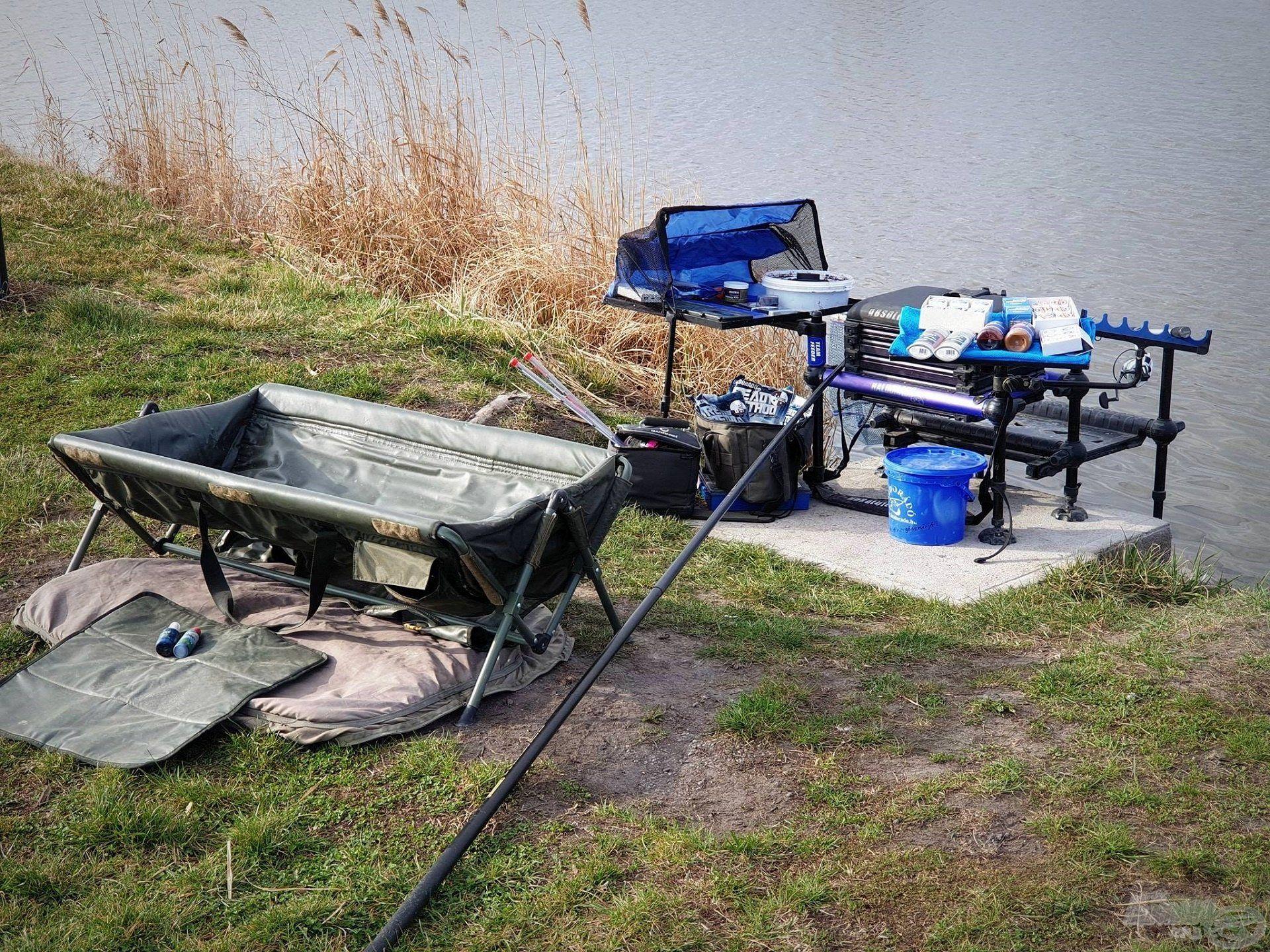 A precíz, jó ízlésű horgász, minden körülmények között rendet tart maga körül, mi is törekedjünk erre!