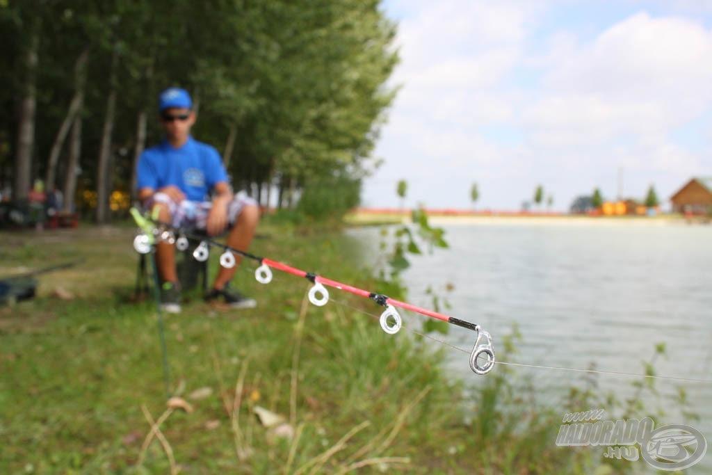 A komolyabb technikákhoz sok vízen már kell horgászvizsgát tenni!