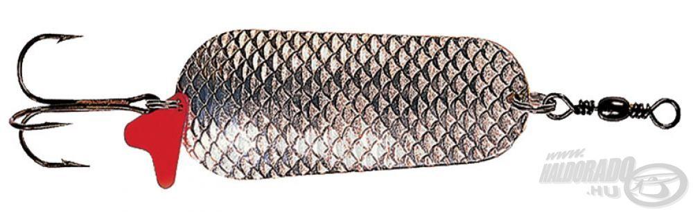 A Schuppe Silver-Gold változat egész teste domború pikkelymintás, amivel extra vibrációt kelt a víz alatti mozgás közben