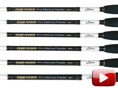 Bemutatom az új By Döme TEAM FEEDER Pro Method feederbotokat